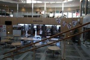 Ålidhemsskolan och biblioteket